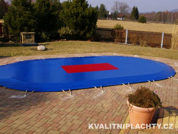 Bazénová plachta v provedení TOP