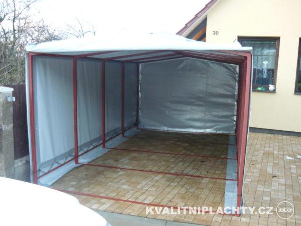 Oplaštění garáže na mírů