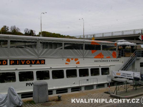 Oplaštění restaurace loď Pivovar