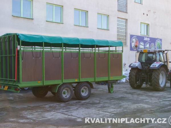 Plachta na vozík - zastřešení valníku
