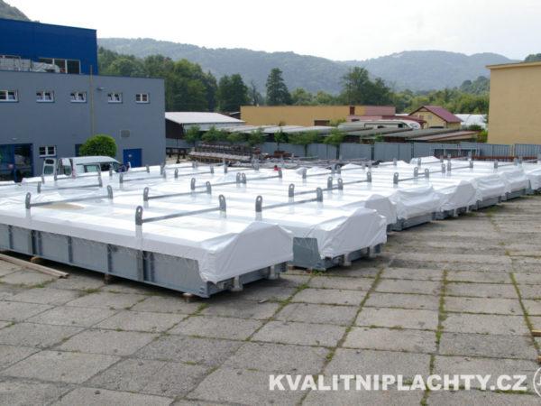 Zakryti kontejneru pro společnost Bronswerk