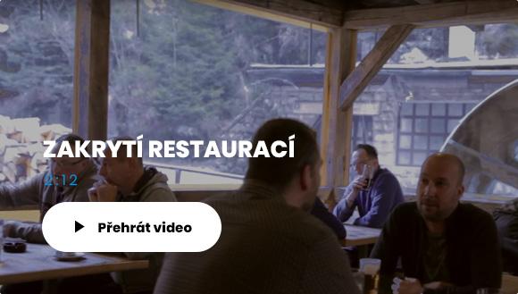 Zakrytí restauraci